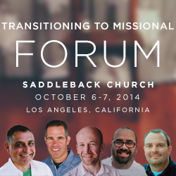 missional forum speakers